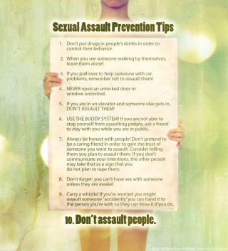 Prevent rape