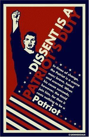 Dissent is patriotic