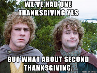 Second thanksgiving