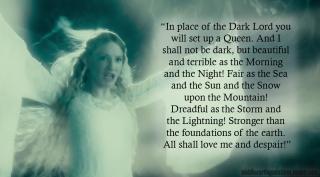 Galadriel dark queen